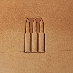 Tool for leather craft. Stamp 264. Size 12x21 mm