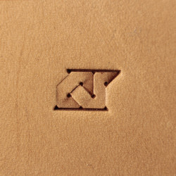 Tool for leather craft. Stamp 292. Size 8x12 mm