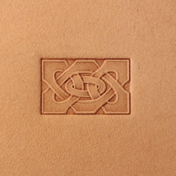 Tool for leather craft. Stamp 300. Size 13x21 mm