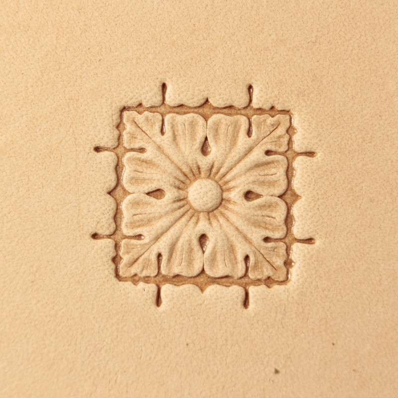 Tool for leather craft. Stamp 337. Size 15x15 mm