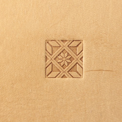 Tool for leather craft. Stamp 339. Size 12x12 mm
