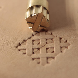 Tool for leather craft. Stamp 372. Size 10x10 mm