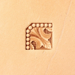 Tool for leather craft. Stamp 327. Size 10x10 mm