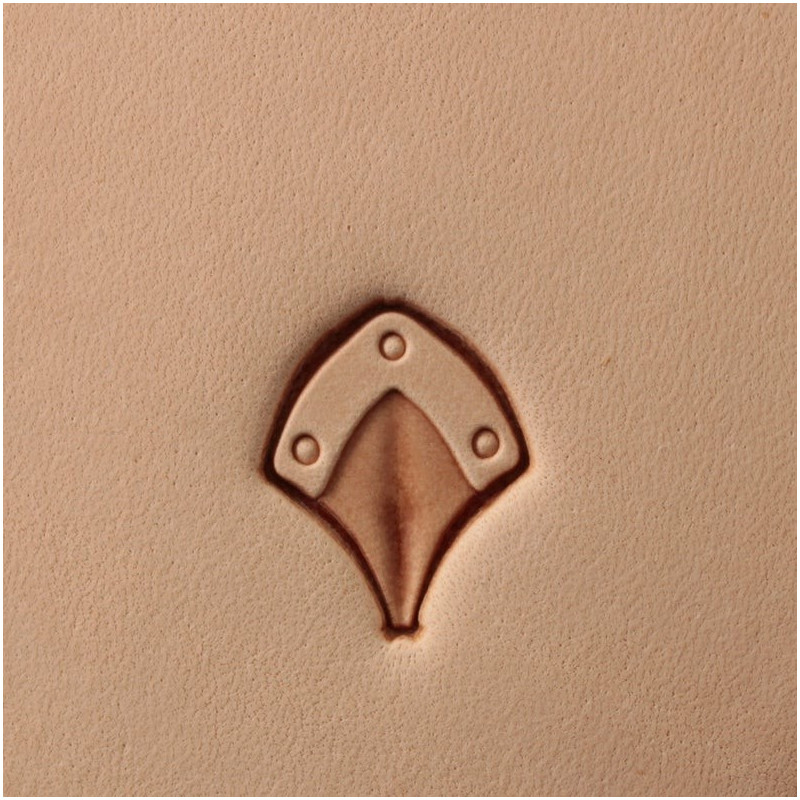 Tool for leather craft. Stamp 403. Size 14x12 mm