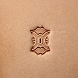 Tool for leather craft. Stamp 408. Size 10x14 mm