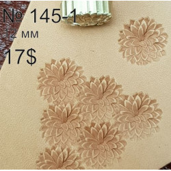 Tool for leather craft. Stamp 145-1. Size 12 mm