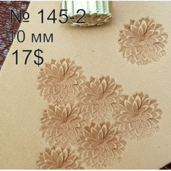 Tool for leather craft. Stamp 145-2. Size 10 mm
