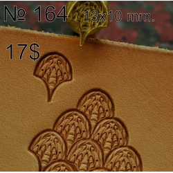 Tool for leather craft. Stamp 164. Size 10х13 mm