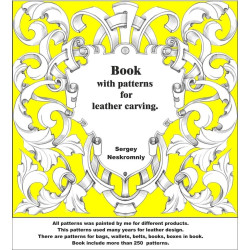 Book with patterns