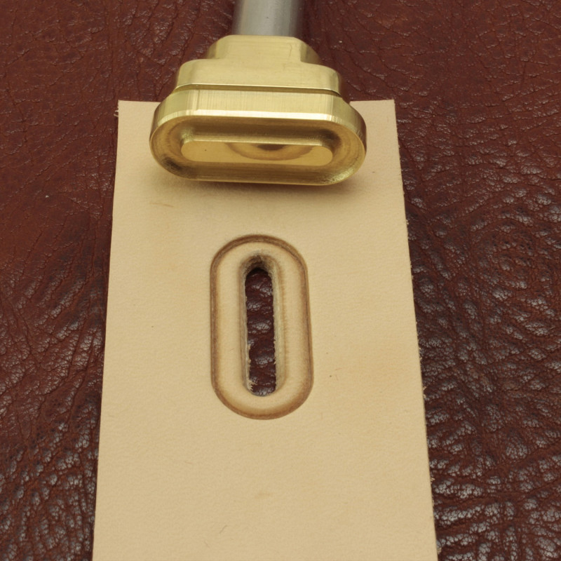 Oblong marking tool. Size 28x12 mm