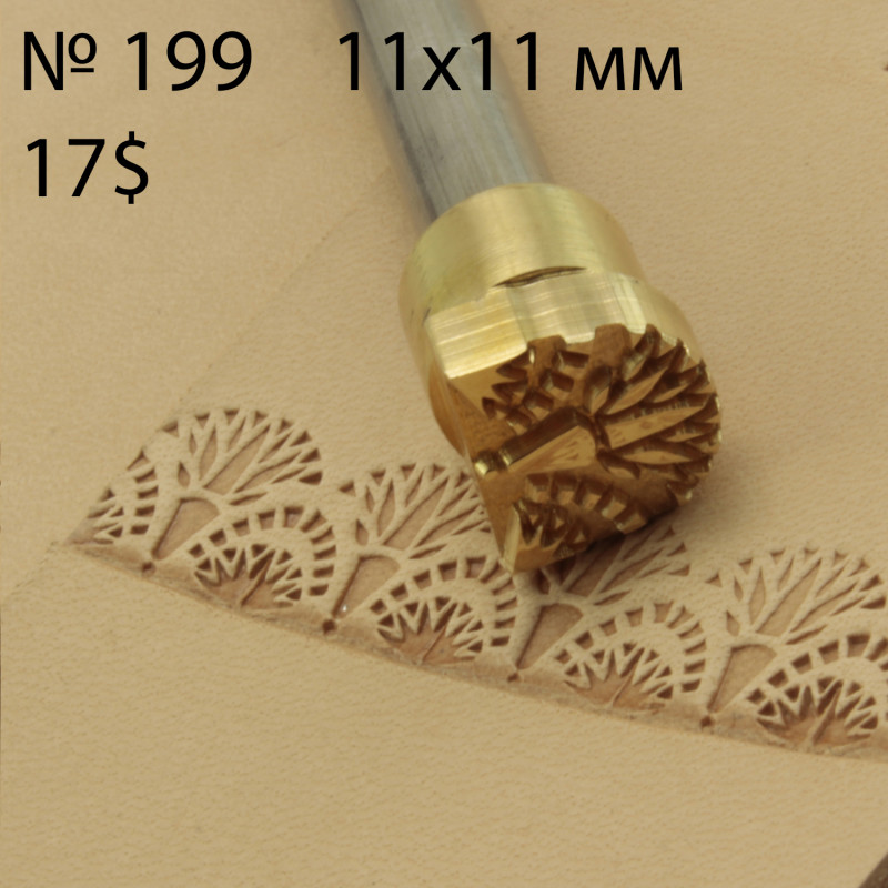 Tool for leather craft. Stamp 199