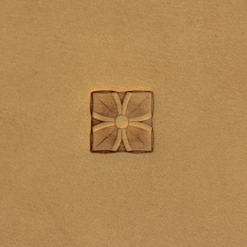 Tool for leather craft. Stamp 215. Size 10x10 mm