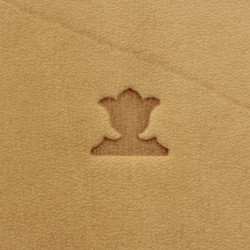 Tool for leather craft. Stamp 13. Size 10x10 mm