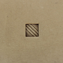 Tool for leather craft. Stamp 223. Size 7x7 mm