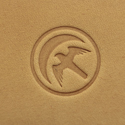 Tools for leather crafts. Game of thrones leather stamp. House Arryn logo. Size 20x20 mm