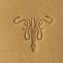 Tools for leather crafts. Game of thrones leather stamp. House Greyjoy logo. Size 20x21 mm