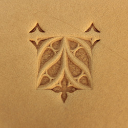 Tool for leather craft. Stamp 238. Size 18x20 mm