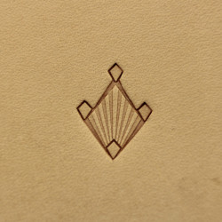 Tool for leather craft. Stamp 239. Size 15x12 mm