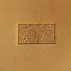 Tool for leather craft. Stamp 244. Size 11x21 mm