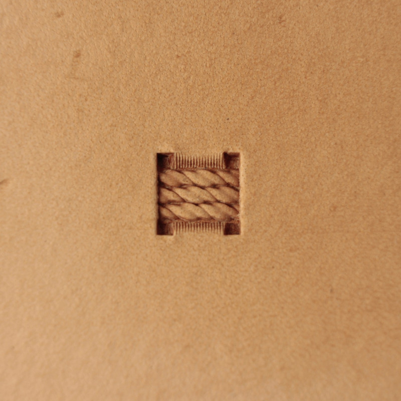 Tool for leather craft. Stamp 262. Size 8x8 mm